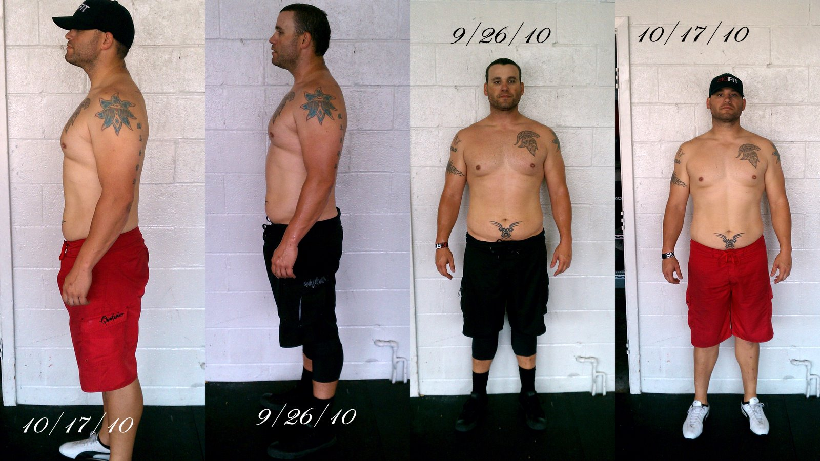 Crossfit Before And After Pictures Men