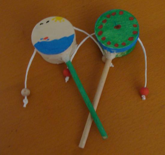 Музыкальный инструмент поделка в садик